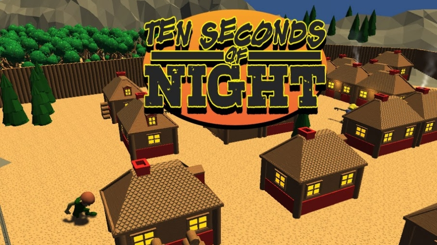 10 Seconds of Night Title Screen