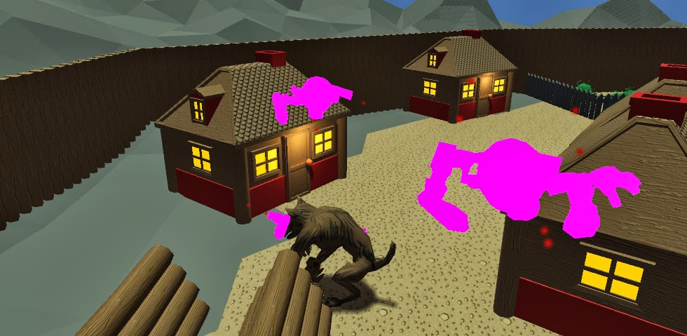 Ludum Dare 27 Game Jam Entry Development Screenshot