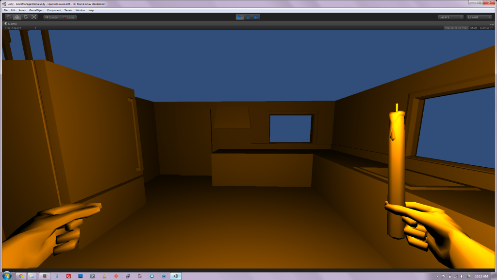 Ludum Dare 26 Game Jam Entry Development Screenshot